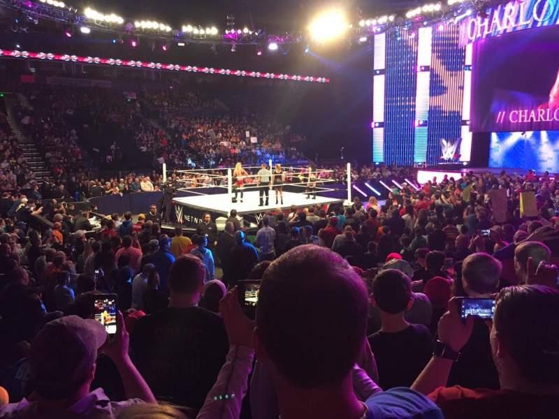Bridgestone Arena, section: 104, row: GG, seat: 11
