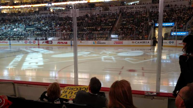 Seating view for PPG Paints Arena Section 122 Row D Seat 2