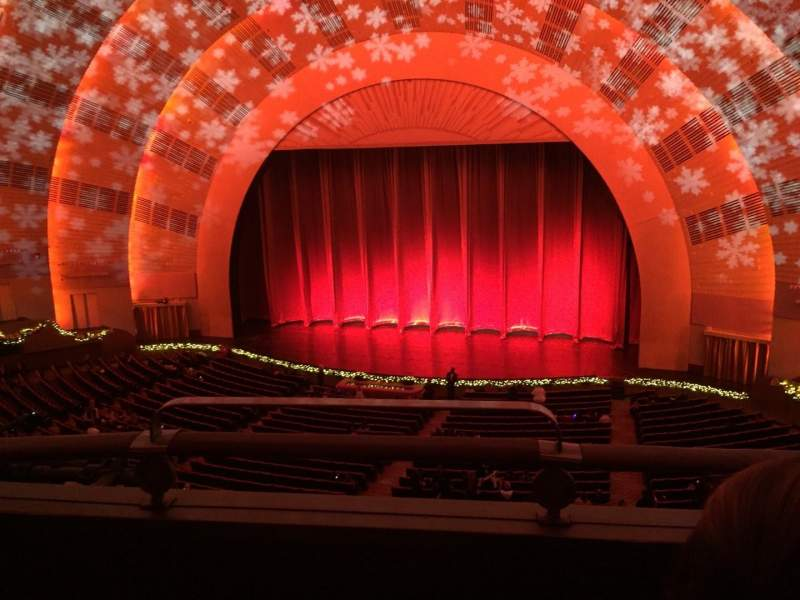 Seating view for Radio City Music Hall Section 2nd Mezzanine 2 Row B Seat 214