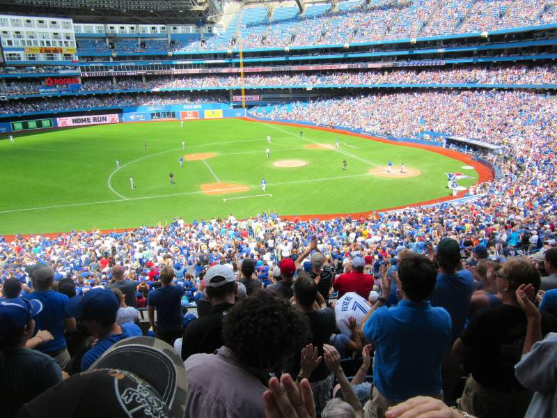 Seating view for Rogers Centre Section 231 Row 7