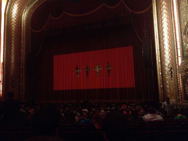 Seating view for Wang Theatre Section ORCHRC Row R Seat 22