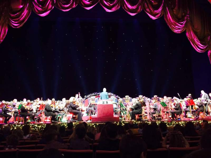 Seating view for Radio City Music Hall Section Orchestra 4 Row MM Seat 409