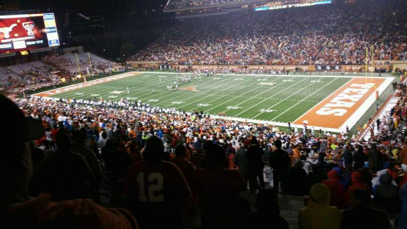 Seating view for Texas Memorial Stadium Section 23 Row 70 Seat 4