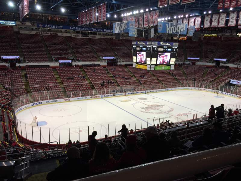 Seating view for Joe Louis Arena Section 225A Row 13 Seat 11