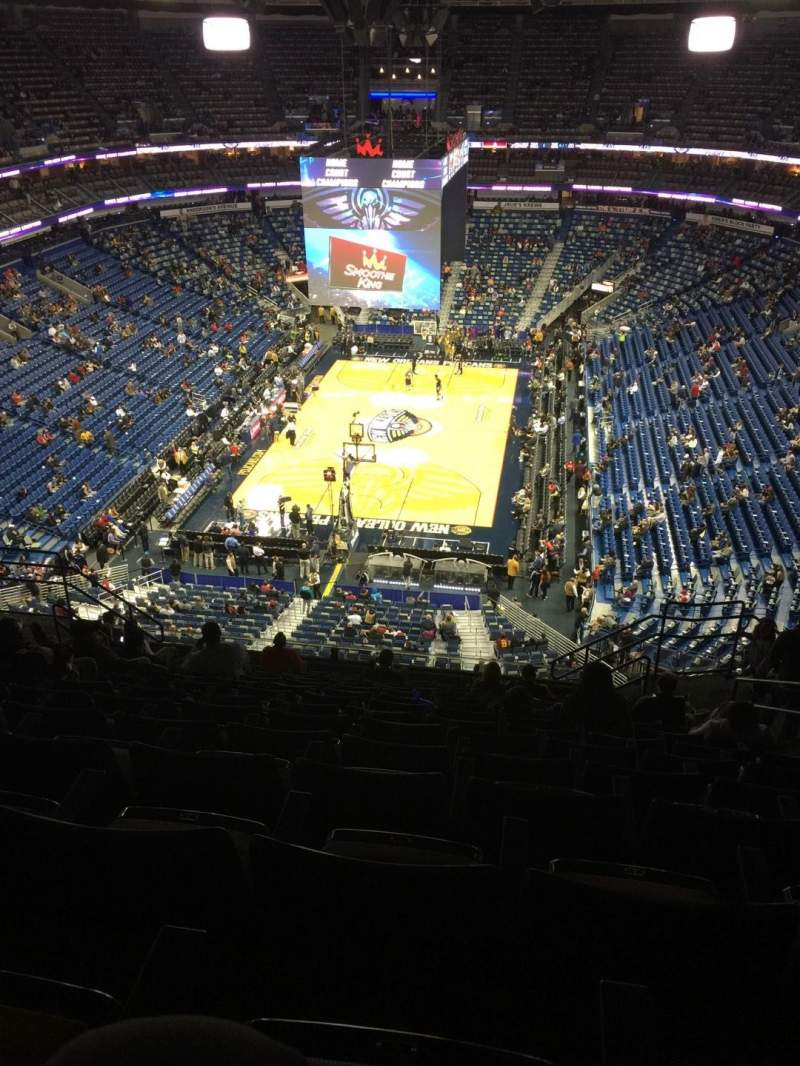 Seating view for Smoothie King Center Section 307 Row 14 Seat 7