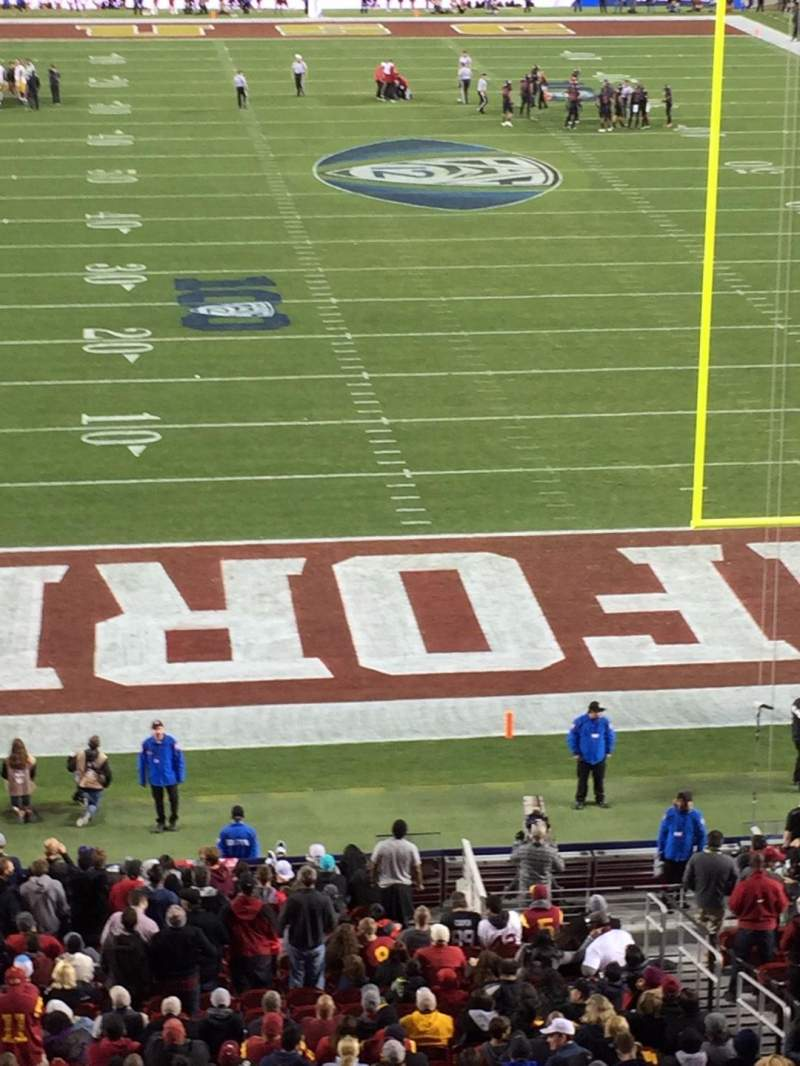 Seating view for Levi's Stadium Section 230 Row 1 Seat 11