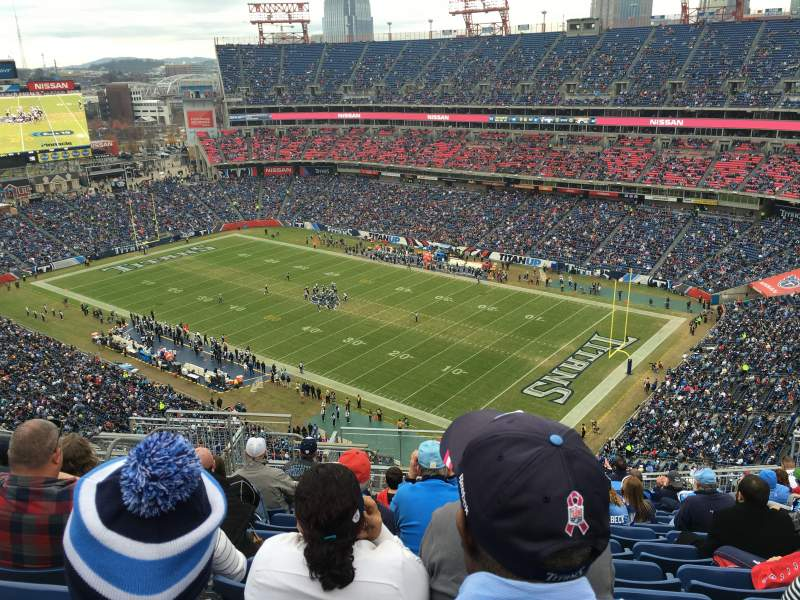 Seating view for Nissan Stadium Section 305 Row T Seat 17