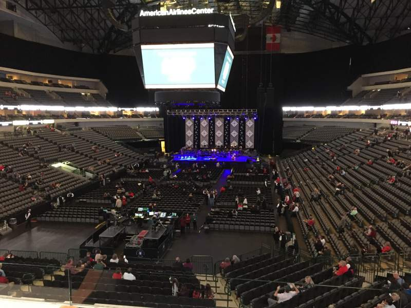 American Airlines Center, section: 1130