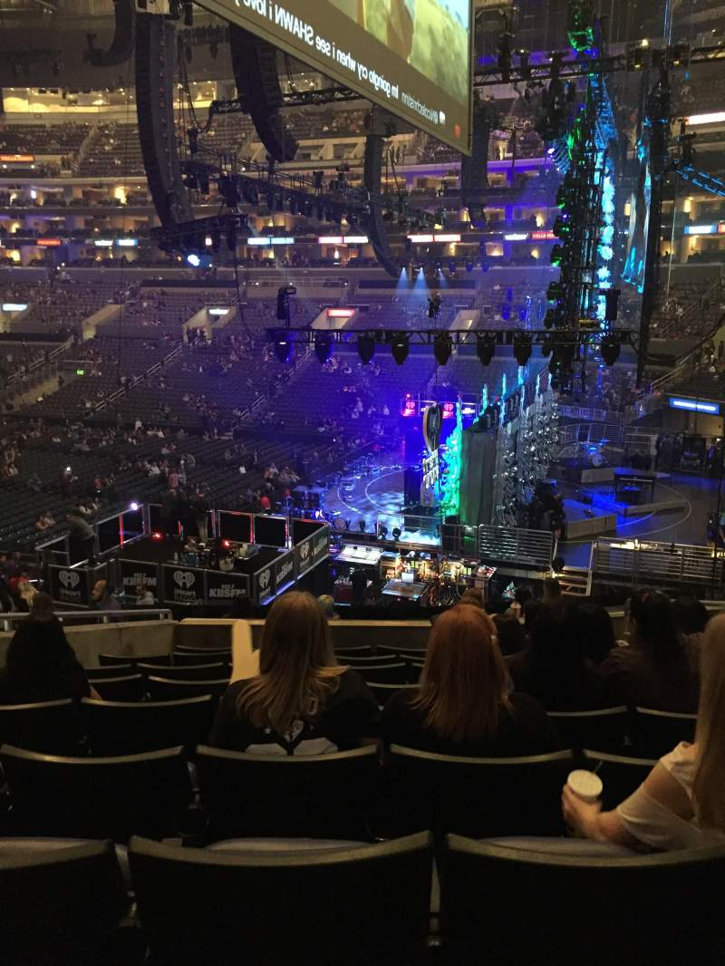 Seating view for Staples Center Section PR2 Row 9 Seat 6