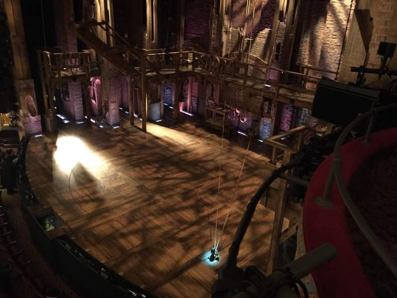 Seating view for Richard Rodgers Theatre Section Box Row H Seat 2