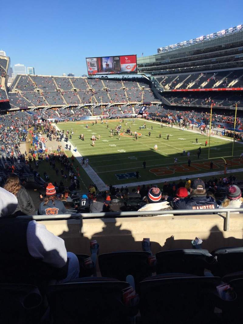 Seating view for Soldier Field Section 325 Row 4 Seat 9