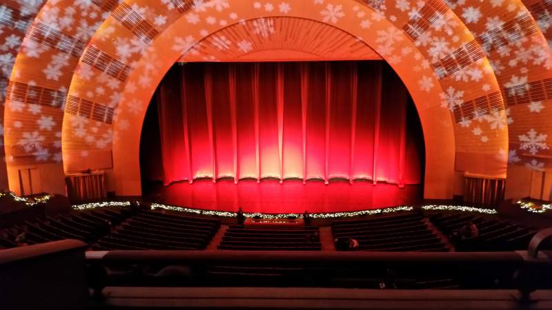 Seating view for Radio City Music Hall Section 2nd Mezzanine 4 Row B Seat 402
