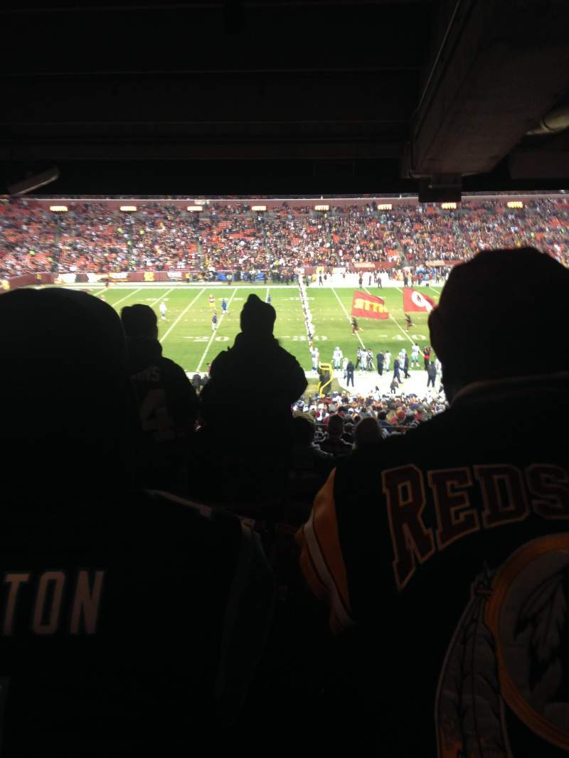 Seating view for FedEx Field Section 223 Row 15 Seat 15