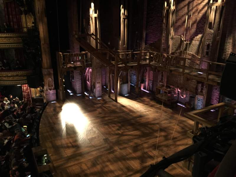 Seating view for Richard Rodgers Theatre Section Box G Row 1 Seat 1