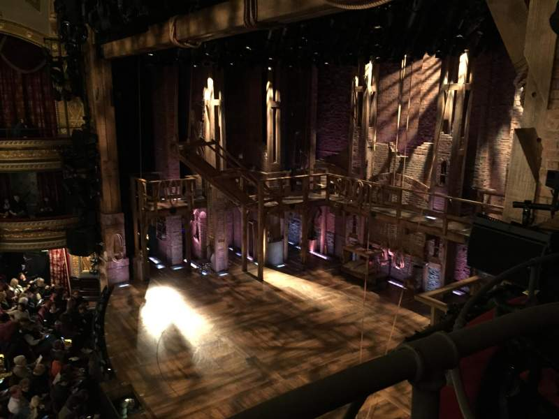 Seating view for Richard Rodgers Theatre Section Box H Row 1 Seat 1