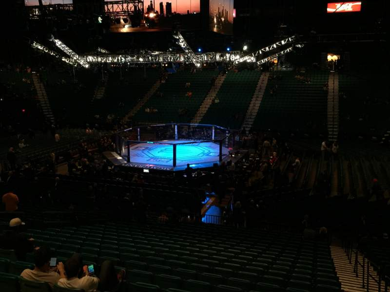 Seating view for MGM Grand Garden Arena Section 11 Row X Seat 1