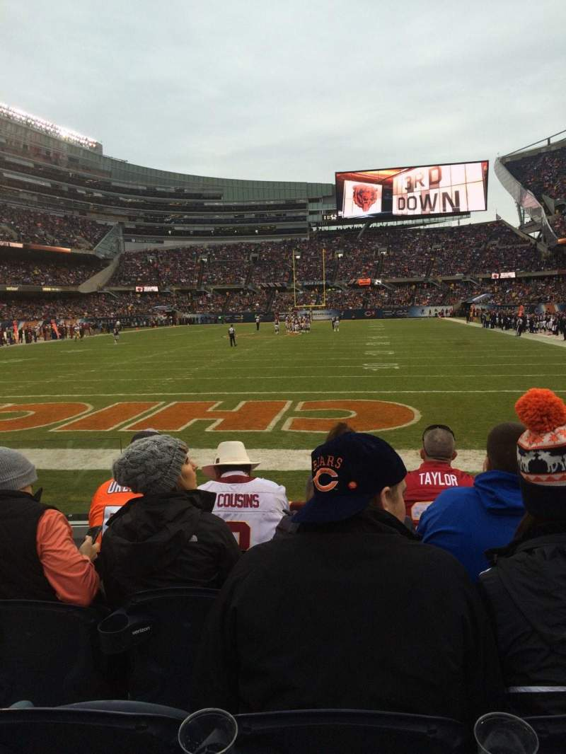 Seating view for Soldier Field Section 150 Row 5 Seat 3