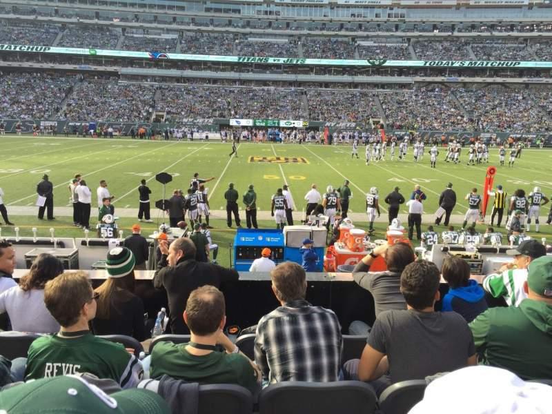 MetLife Stadium, section: 113, row: 5, seat: 16