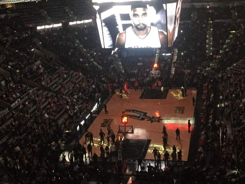 AT&T Center, section: 231, row: 11, seat: 13