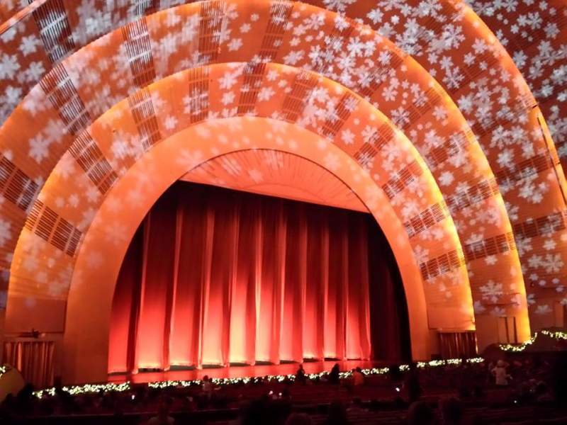 Seating view for Radio City Music Hall Section Orchestra 7 Row K