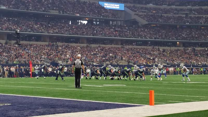 Seating view for AT&T Stadium Section Field Suite Row 21A