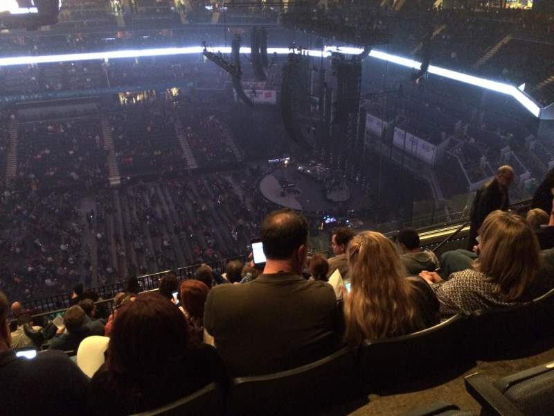 Spectrum Center, section: 225, row: N, seat: 11