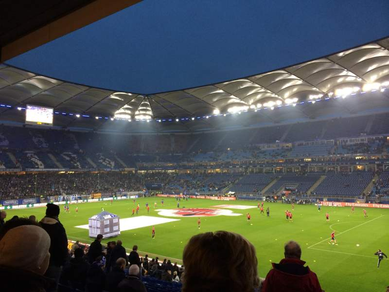 Seating view for Volksparkstadion