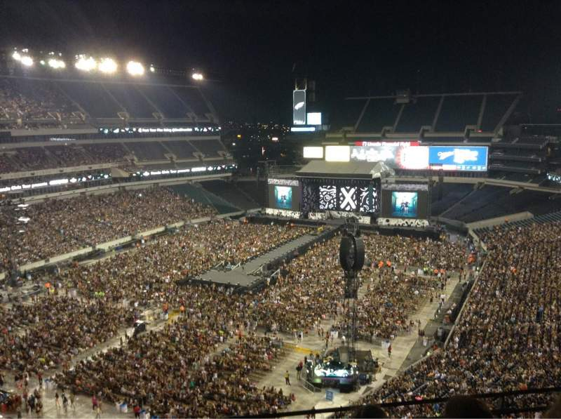 Seating view for Lincoln Financial Field Section 217