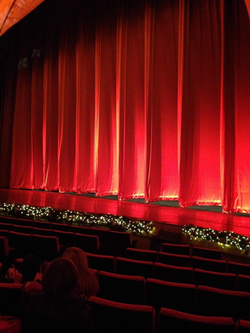 Seating view for Radio City Music Hall Section Orchestra 2 Row Kk Seat 206