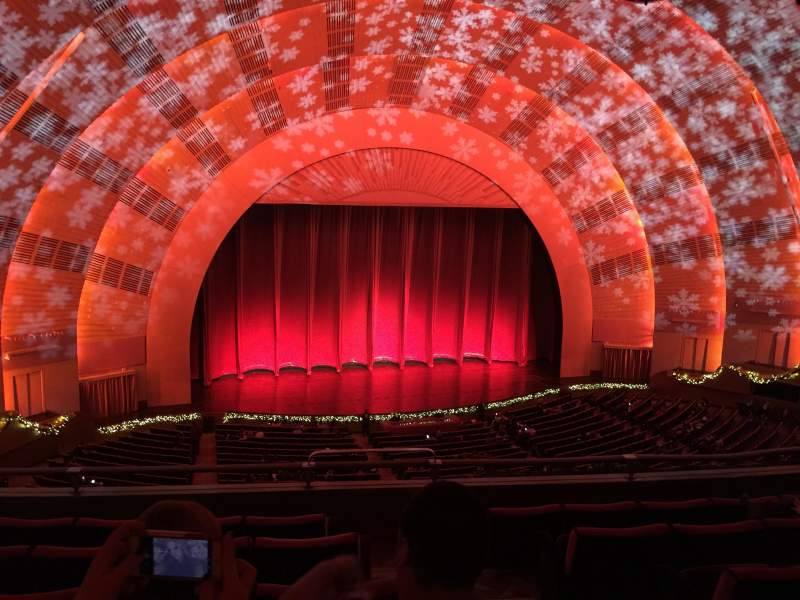 Seating view for Radio City Music Hall Section 2nd Mezzanine 6 Row F Seat 602