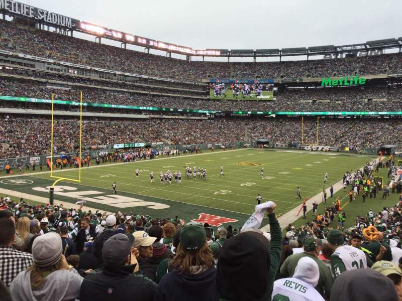 Seating view for MetLife Stadium Section 123 Row 31 Seat 4