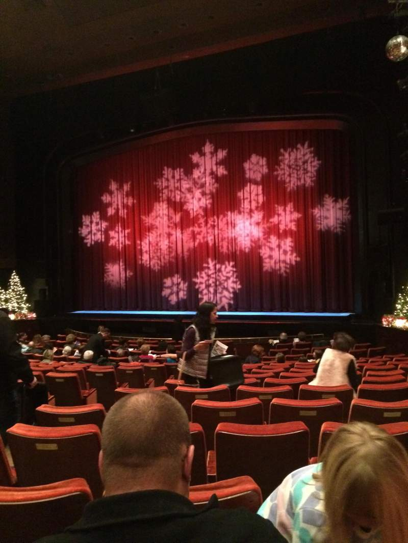 Seating view for Paper Mill Playhouse Section Orchestra Row Q Seat 12