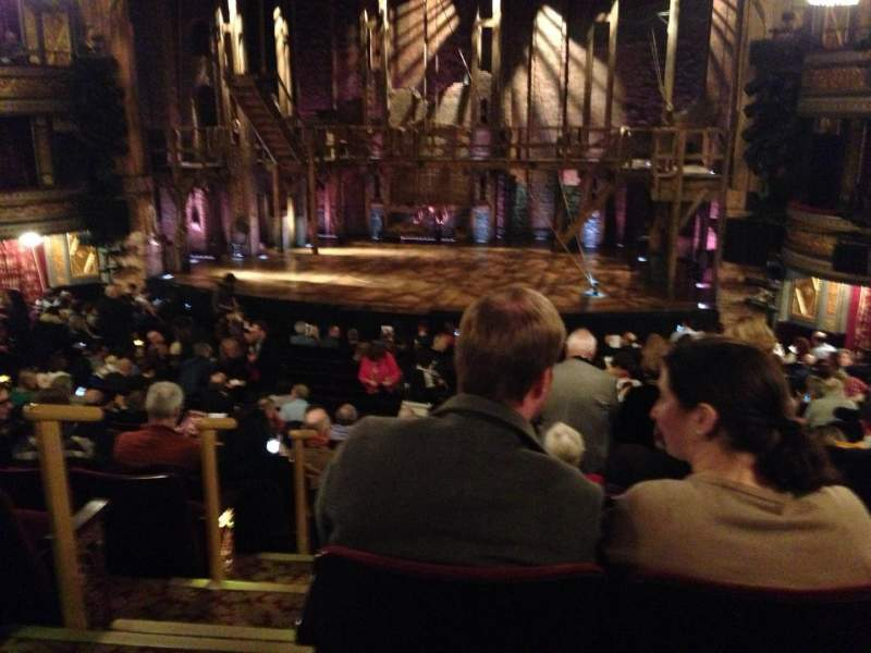 Seating view for Richard Rodgers Theatre Section Orch Row S Seat 4
