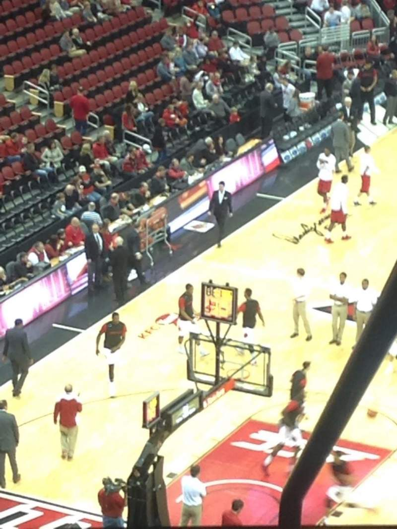 Seating view for KFC Yum! Center Section 313 Row UU Seat 15