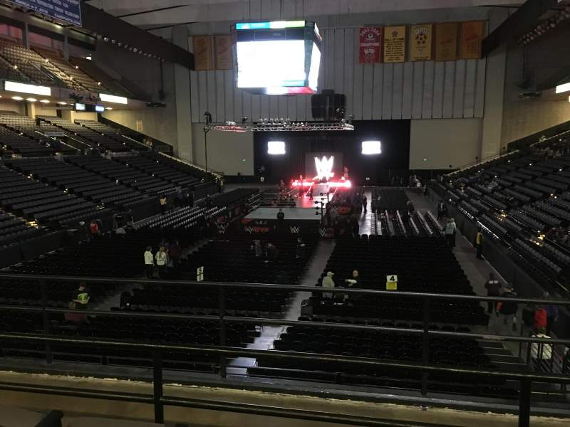 Seating view for Royal Farms Arena Section 228 Row C Seat 12