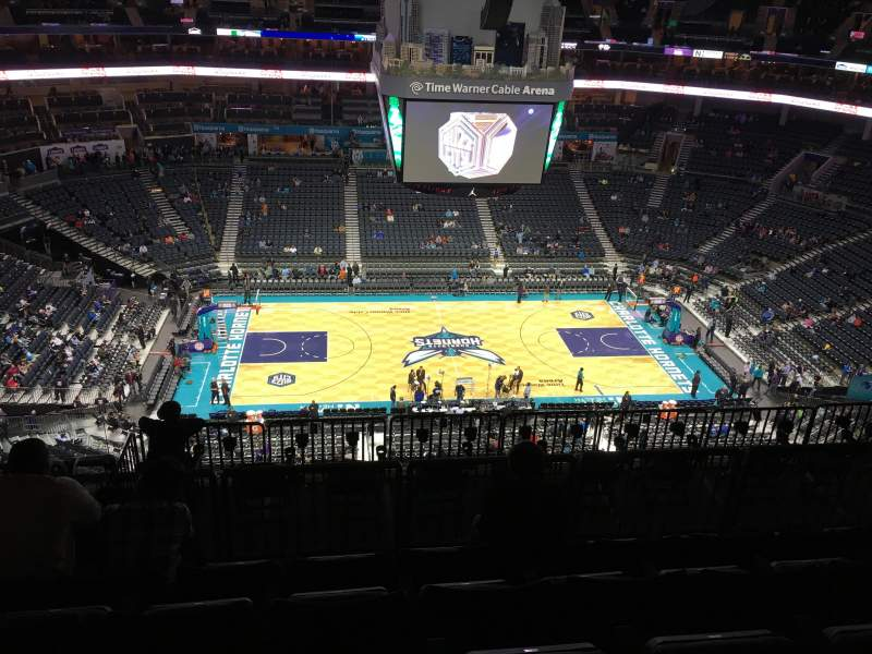 Seating view for Spectrum Center