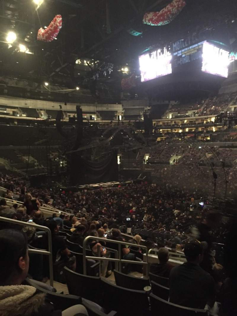 Seating view for Staples Center Section PR11 Row 12 Seat 9