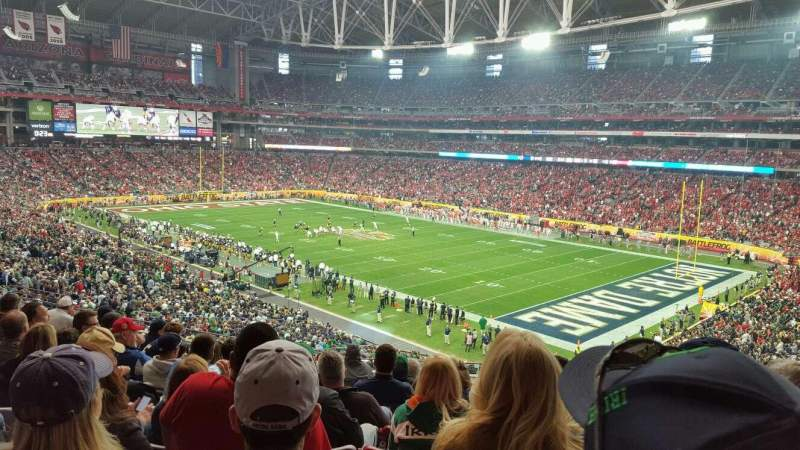 Seating view for University of Phoenix Stadium Section 204 Row 9 Seat 8
