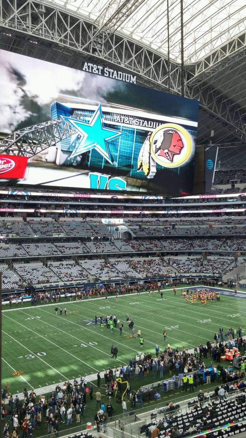 Seating view for AT&T Stadium Section C314 Row 1 Seat 1