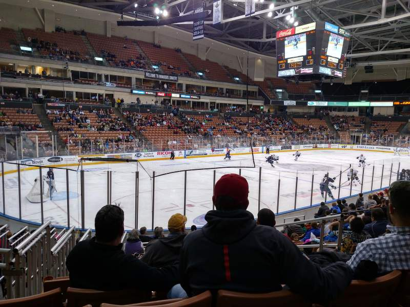Seating view for SNHU Arena Section 111 Row N Seat 4
