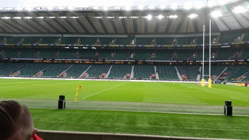 Seating view for Twickenham Stadium Section l4 Row 7  Seat 182