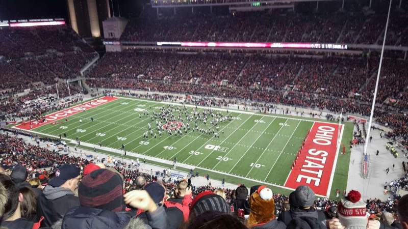 Seating view for Ohio Stadium Section 16c