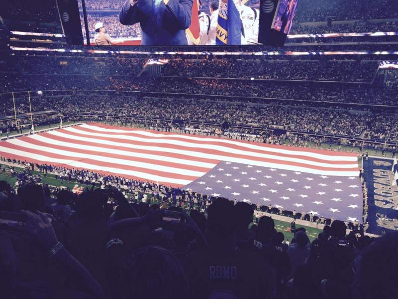 AT&T Stadium, section: C332, row: 11, seat: 11
