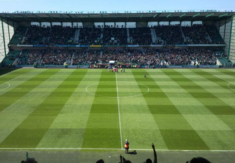 Seating view for Easter Road Stadium Section East 41 Row CC Seat 117