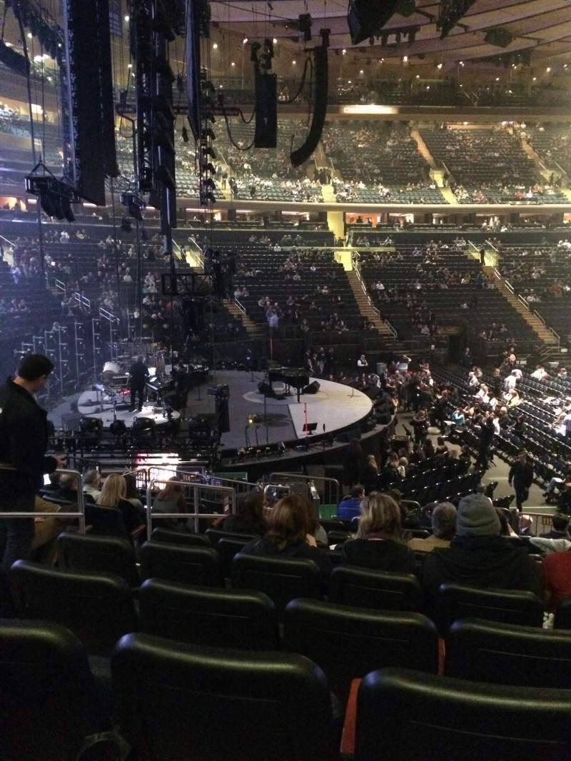 Madison Square Garden Section 115 Row 14 Seat 5 Billy Joel Shared Anonymously