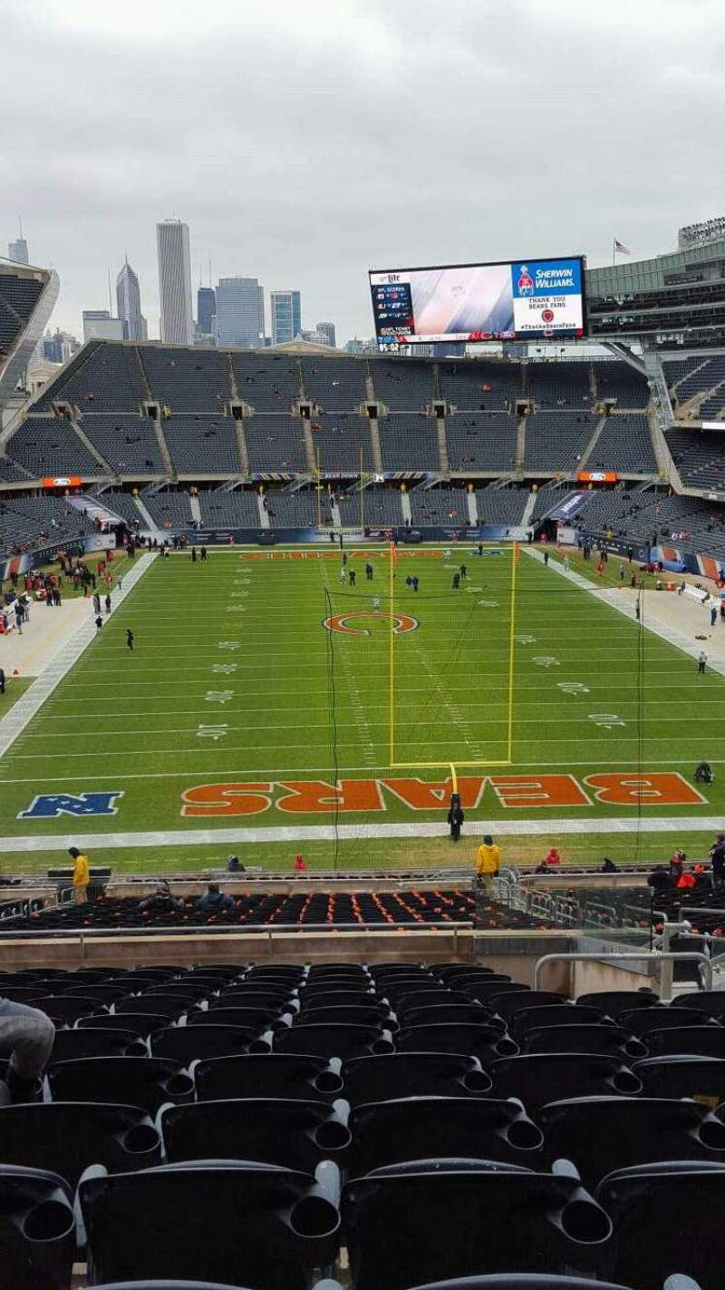 Seating view for Soldier Field Section 323 Row 13 Seat 16