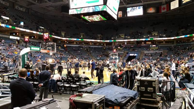 Seating view for BMO Harris Bradley Center Section 218 Row B Seat 14