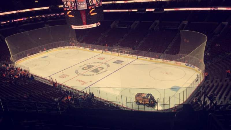 Seating view for Wells Fargo Center Section 204 Row 9 Seat 10