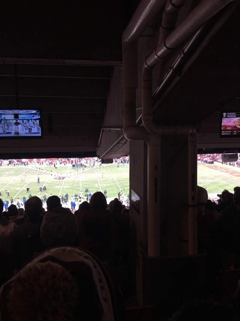 Seating view for FedEx Field Section 221 Row 19 Seat 15