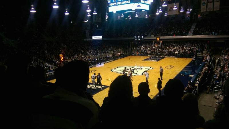 Seating view for Hinkle Fieldhouse Section 211 Row 4 Seat 2